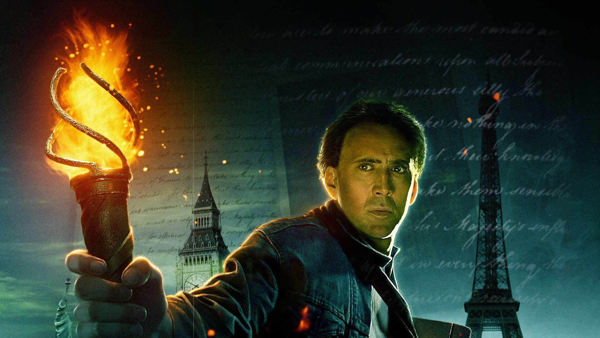HD Quality Wallpaper | Collection: Movie, 1920x1080 National Treasure: Book Of Secrets