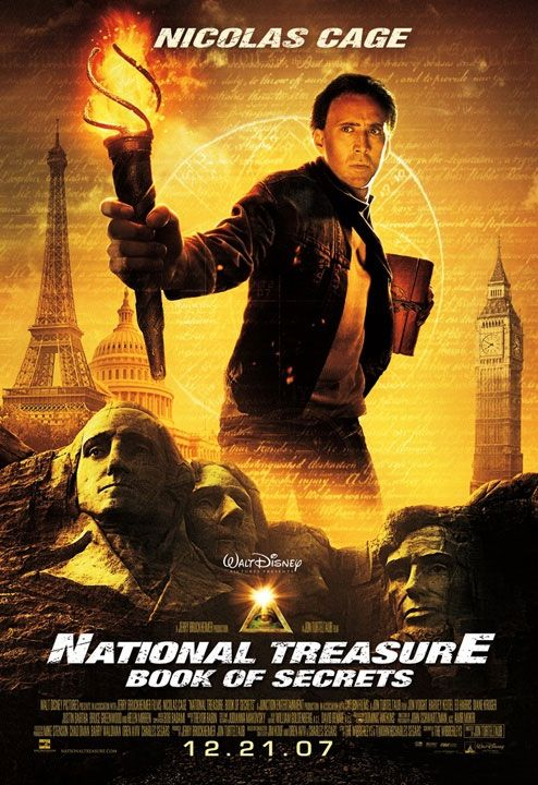 National Treasure: Book Of Secrets Backgrounds, Compatible - PC, Mobile, Gadgets| 494x720 px