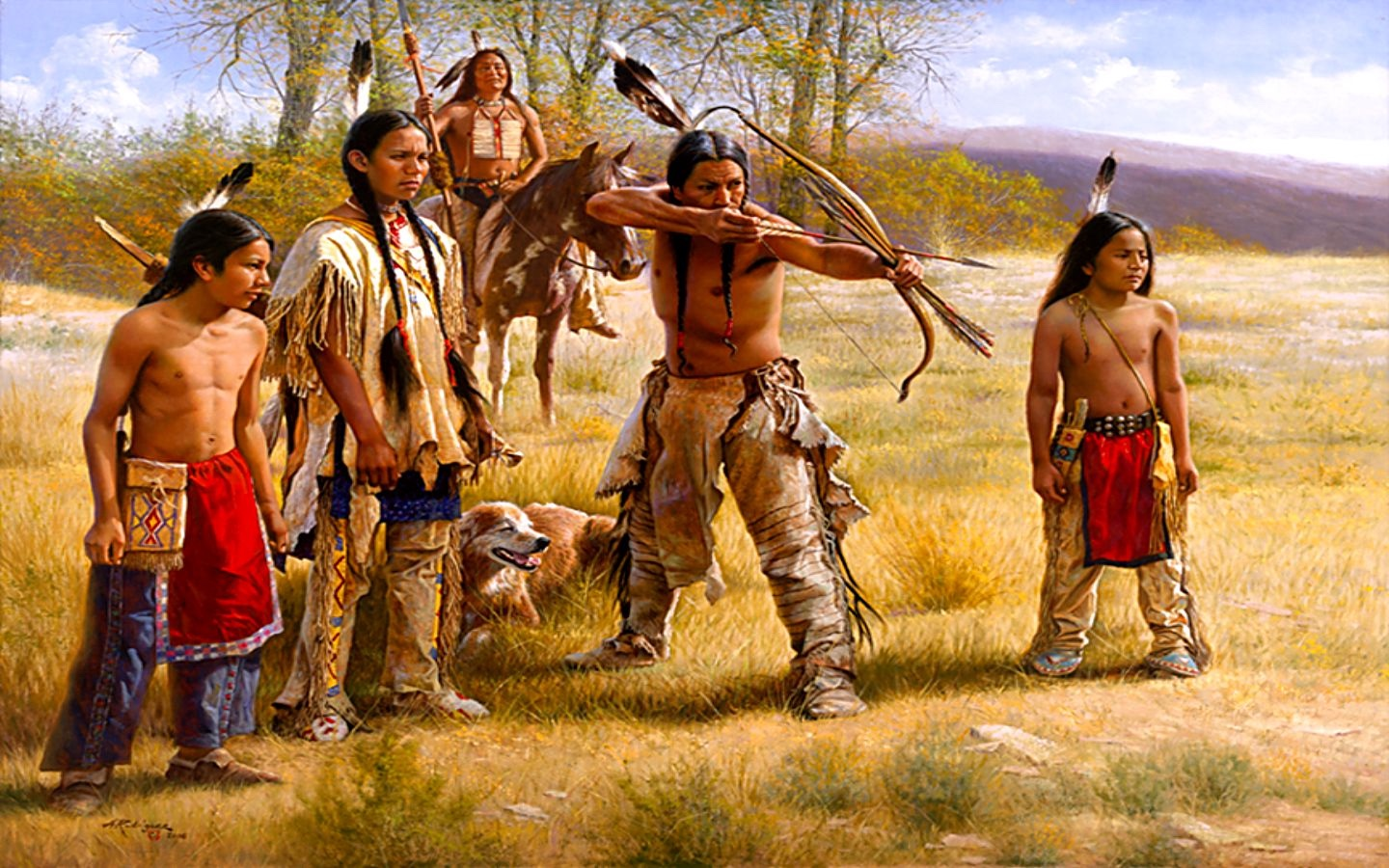 Nice Images Collection: Native American Desktop Wallpapers