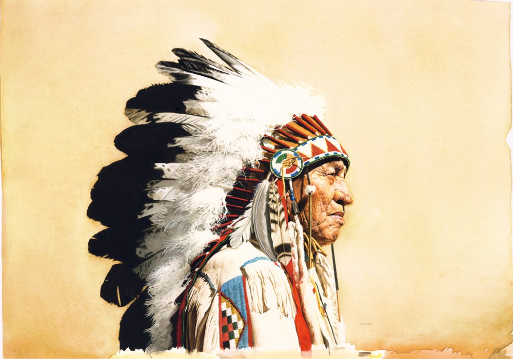 Nice wallpapers Native American 1000x701px