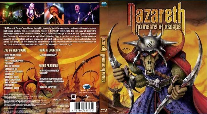 Nazareth:No Means Of Escape Pics, Movie Collection