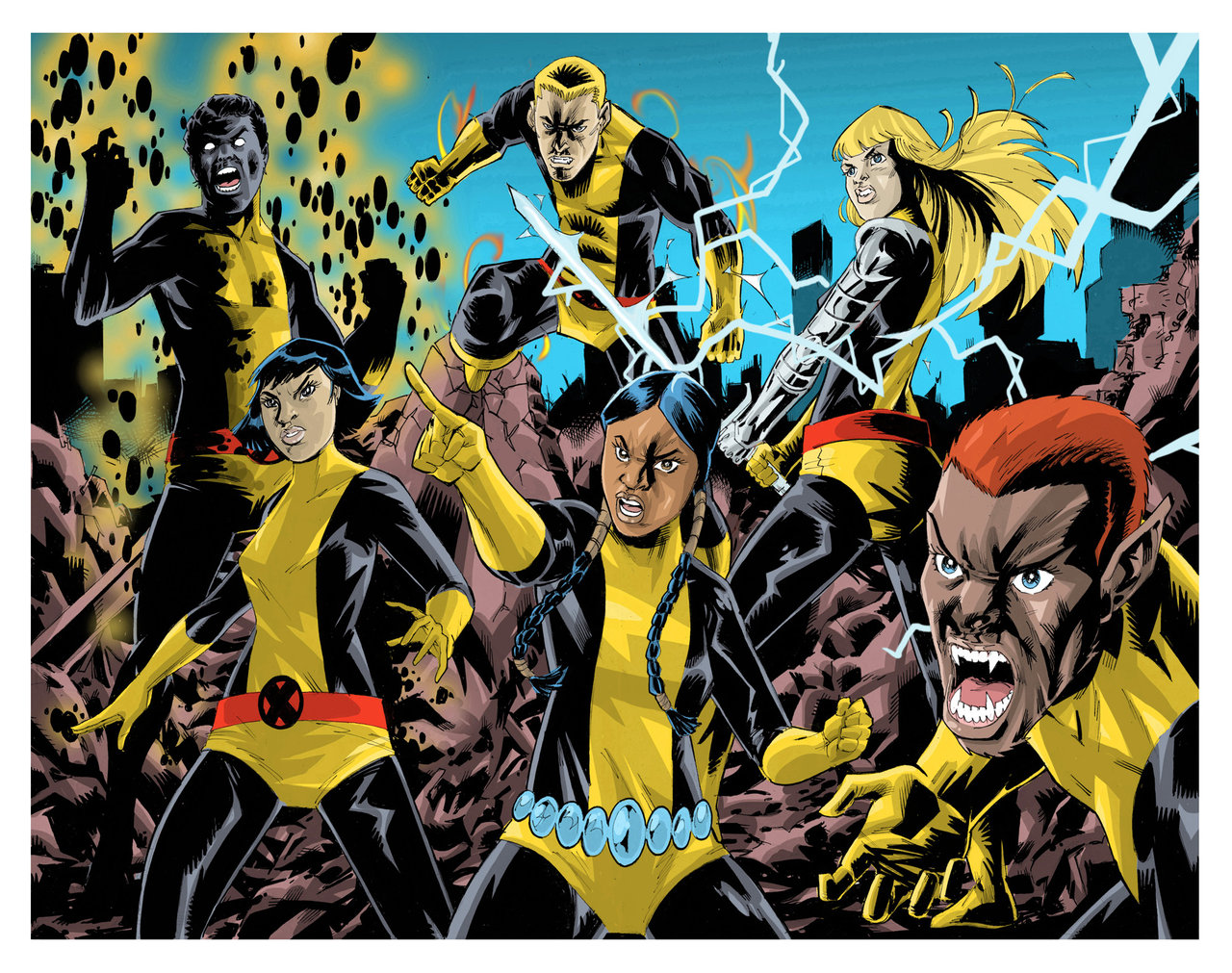 The New Mutants Backgrounds, Compatible - PC, Mobile, Gadgets| 1280x1011 px