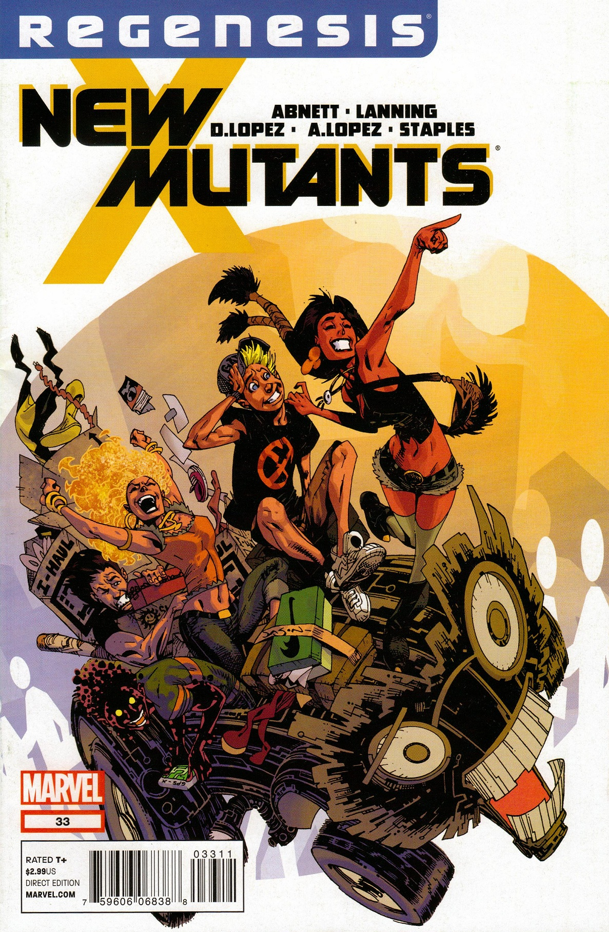 Nice Images Collection: The New Mutants Desktop Wallpapers
