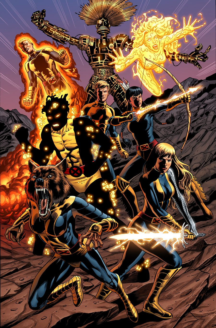 HD Quality Wallpaper | Collection: Comics, 900x1366 The New Mutants