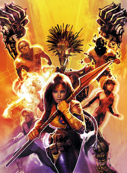 HD Quality Wallpaper | Collection: Comics, 442x602 The New Mutants