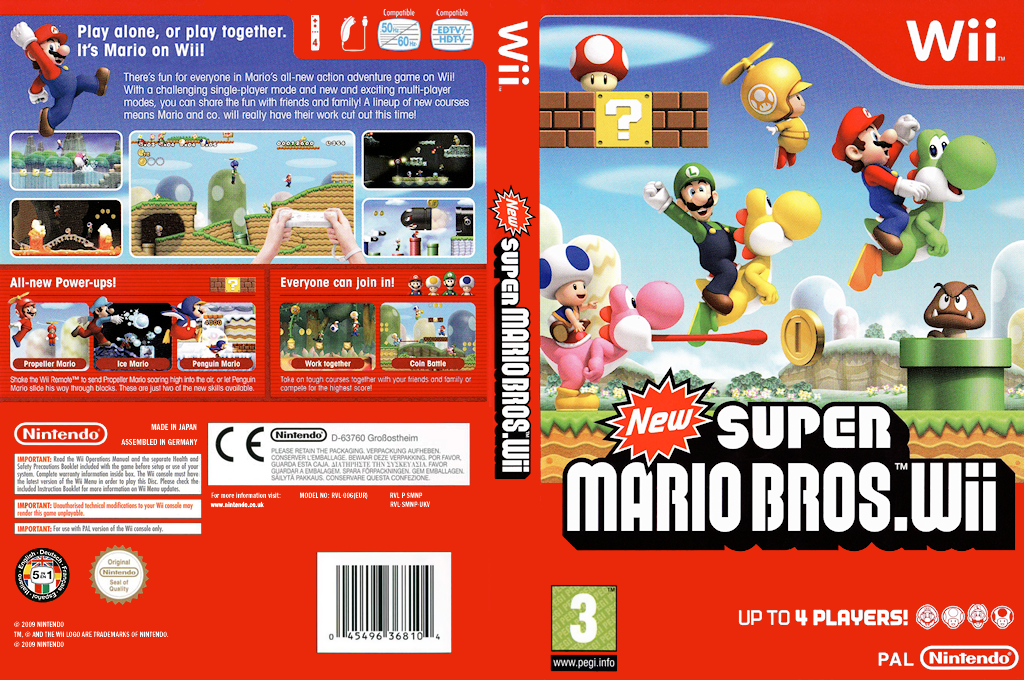 New Super Mario Bros Wii Wallpapers Video Game Hq New Super