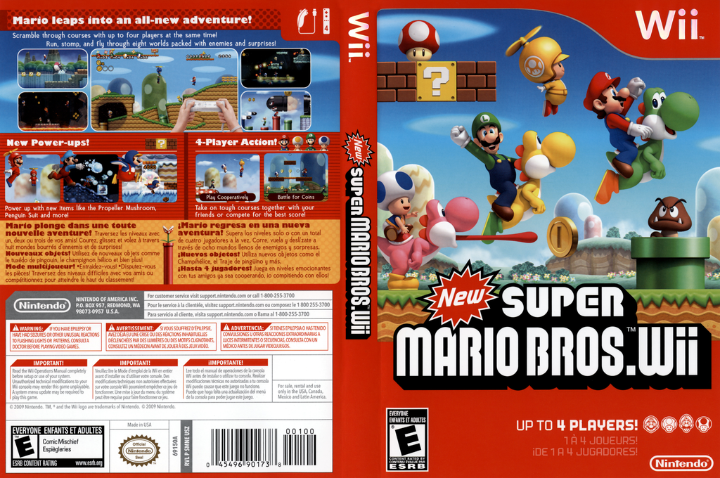 New Super Mario Bros  Wii wallpapers, Video Game, HQ New