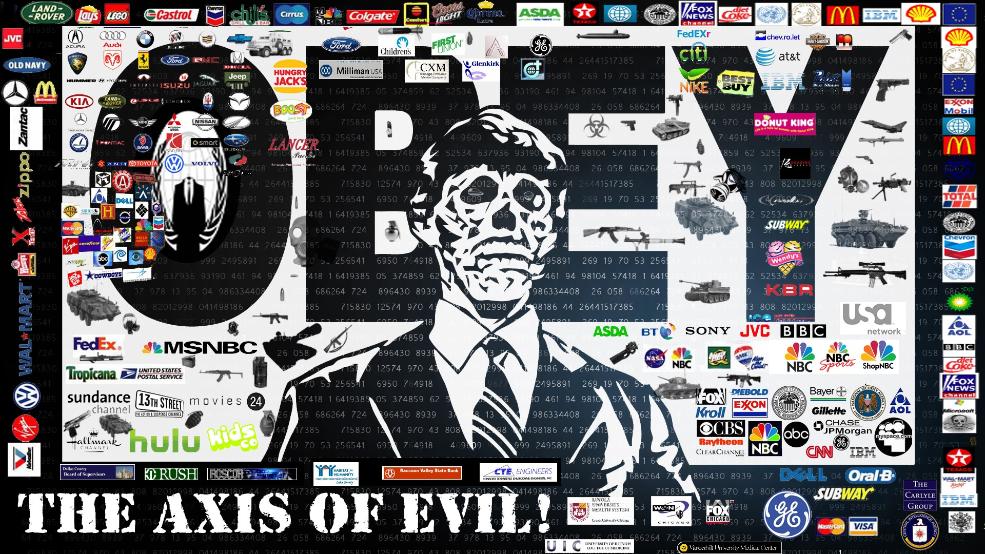 Nice wallpapers New World Order 1920x1080px