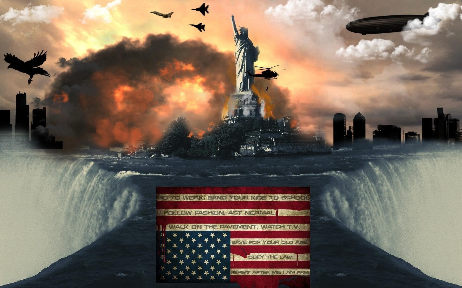 HQ New World Order Wallpapers | File 265.22Kb