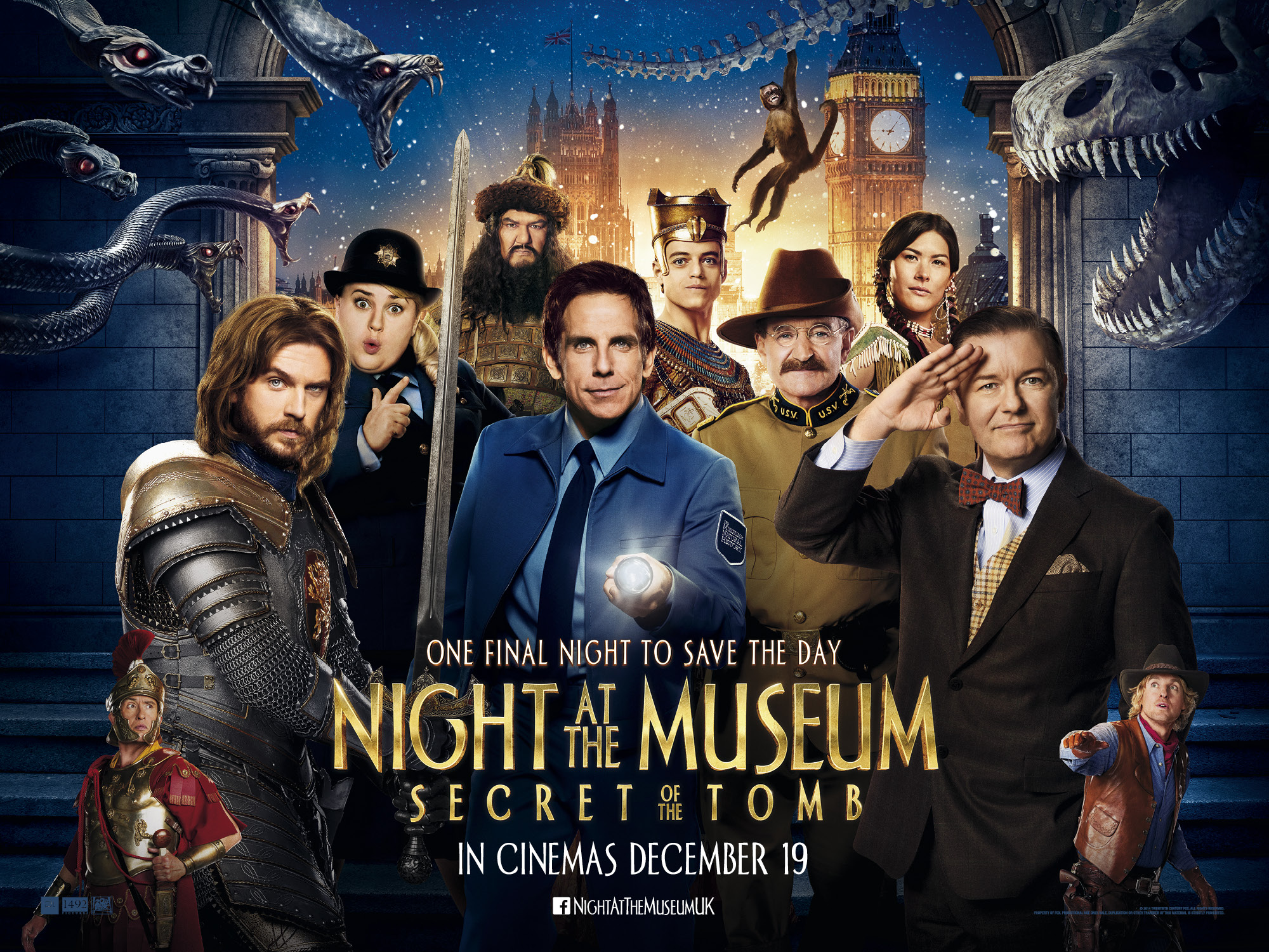 High Resolution Wallpaper | Night At The Museum: Secret Of The Tomb 2000x1500 px