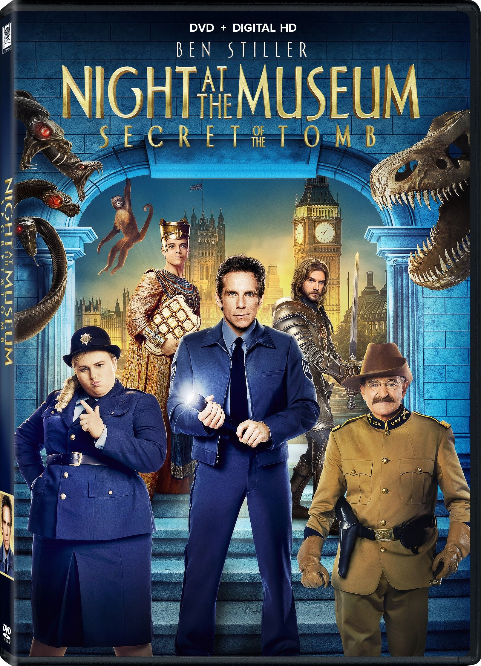 Nice Images Collection: Night At The Museum: Secret Of The Tomb Desktop Wallpapers