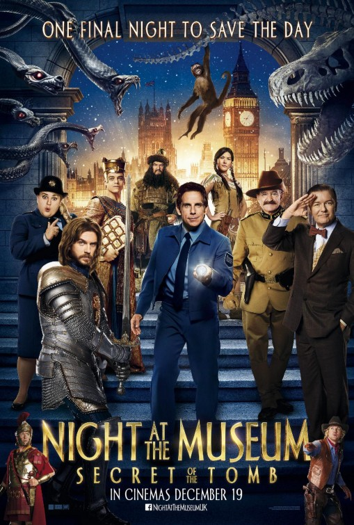 HD Quality Wallpaper | Collection: Movie, 509x755 Night At The Museum: Secret Of The Tomb