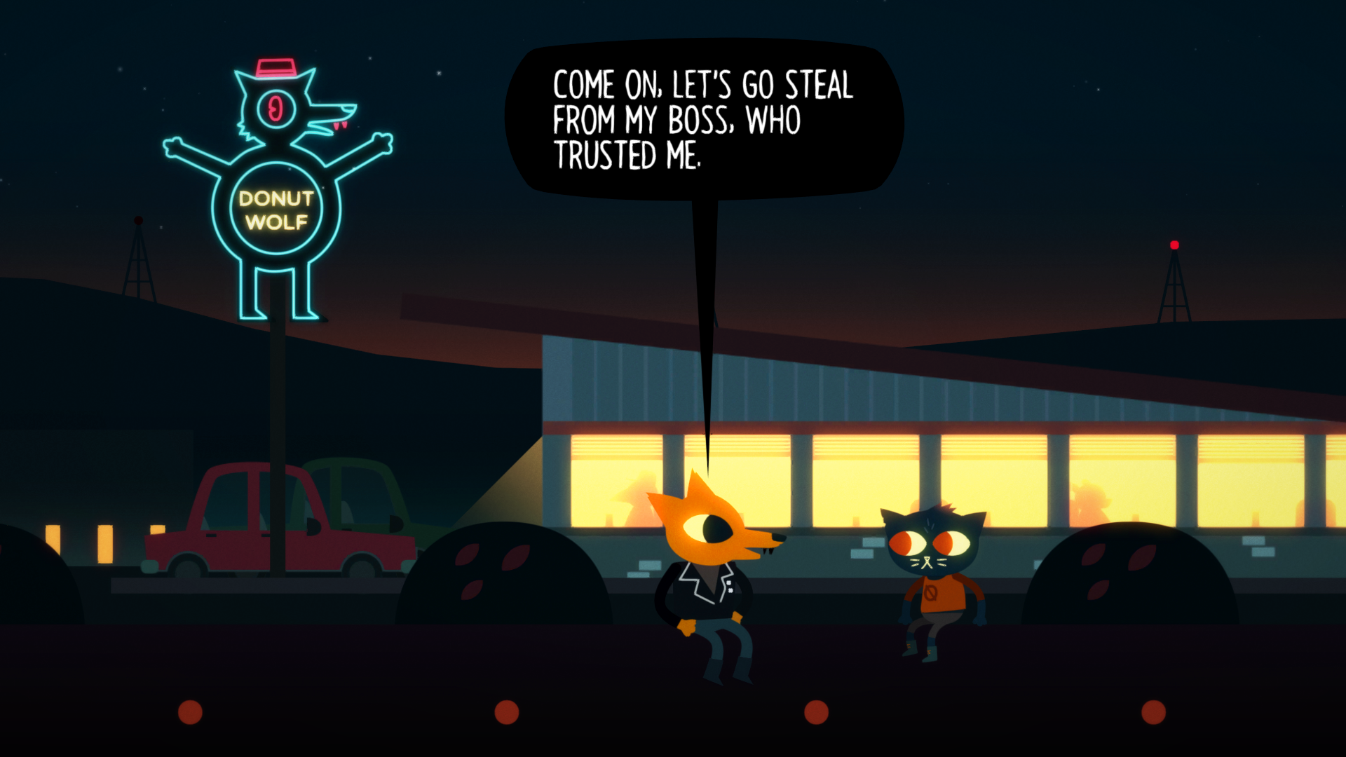 Night In The Woods Wallpapers Video Game Hq Night In The Woods