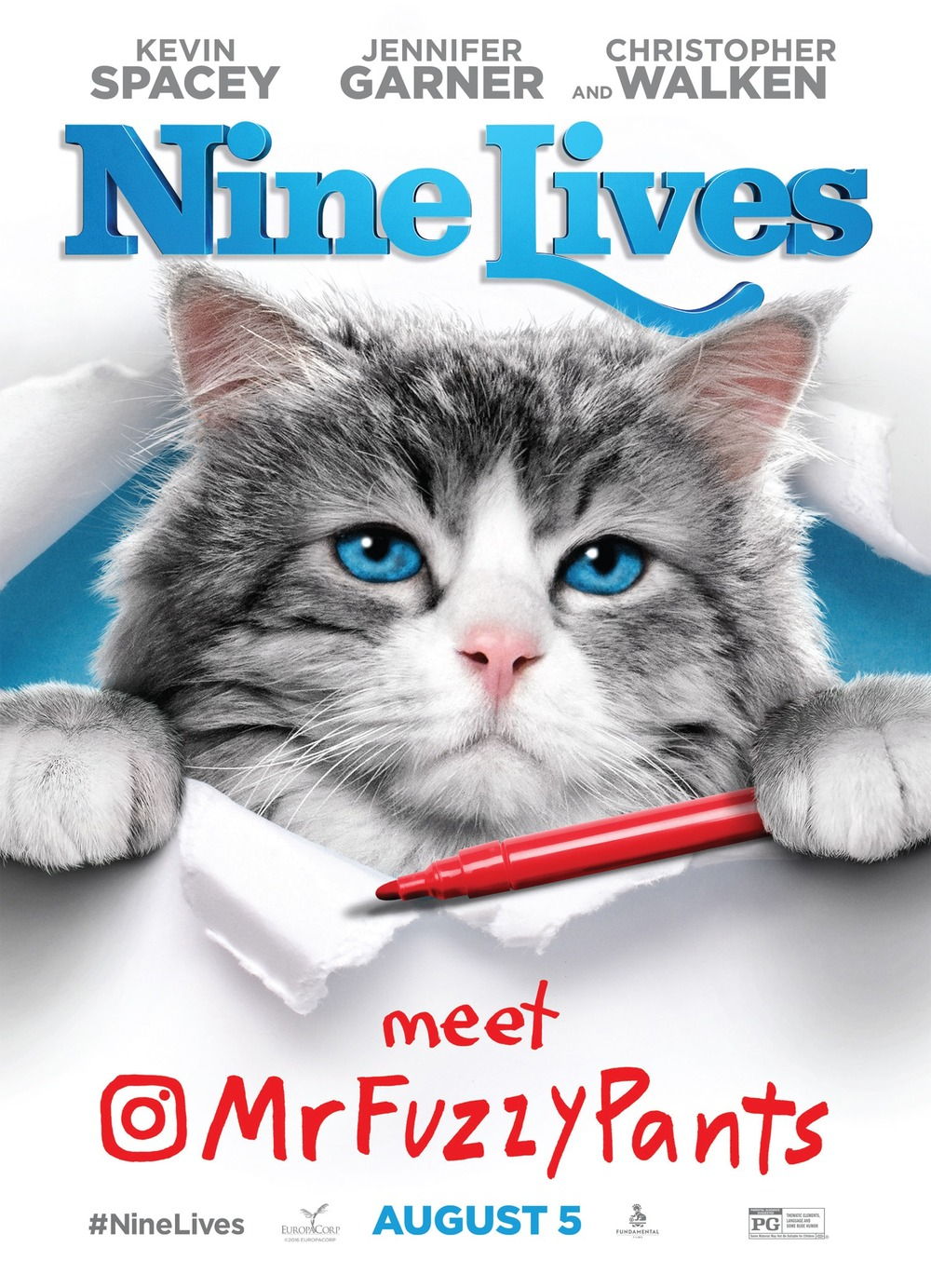 1000x1383 > Nine Lives Wallpapers