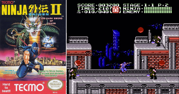 Ninja Gaiden Ii The Dark Sword Of Chaos Wallpapers Video Game