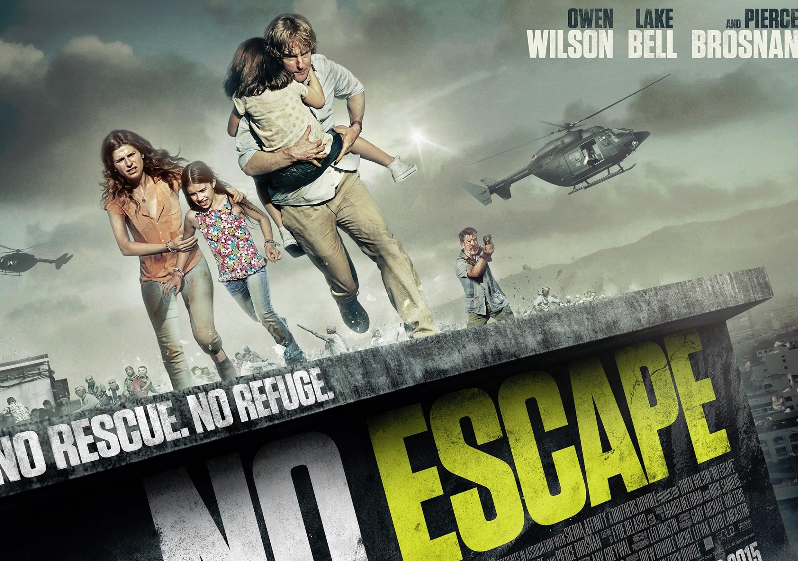 HD Quality Wallpaper | Collection: Movie, 2560x1800 No Escape