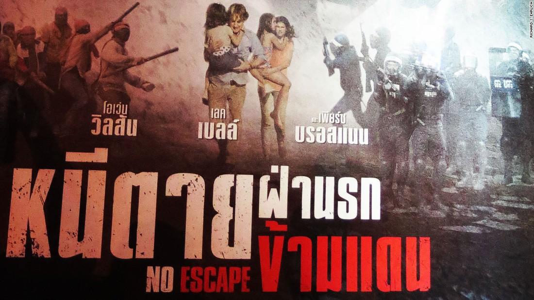 HD Quality Wallpaper | Collection: Movie, 1100x619 No Escape