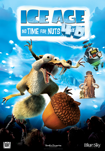 HD Quality Wallpaper   Collection: Movie, 418x600 No Time For Nuts