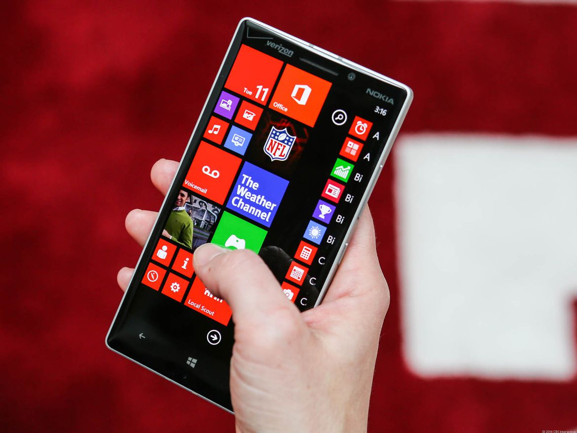 HD Quality Wallpaper | Collection: Technology, 1170x878 Nokia Lumia