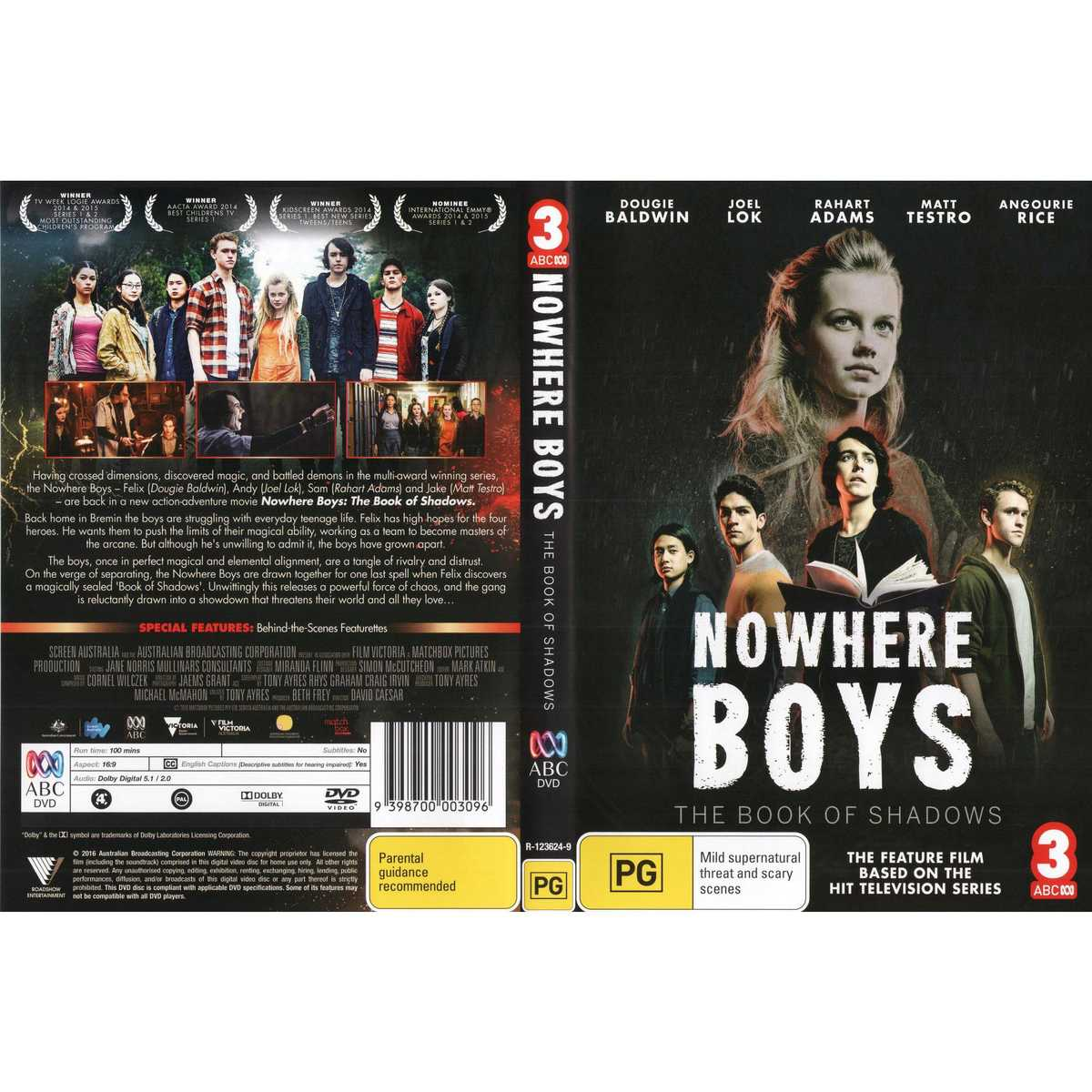 Nowhere Boys: The Book Of Shadows Backgrounds, Compatible - PC, Mobile, Gadgets| 1200x1200 px