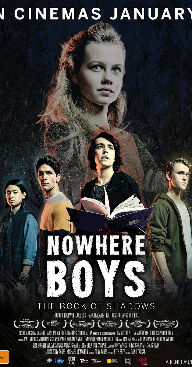 630x1200 > Nowhere Boys: The Book Of Shadows Wallpapers