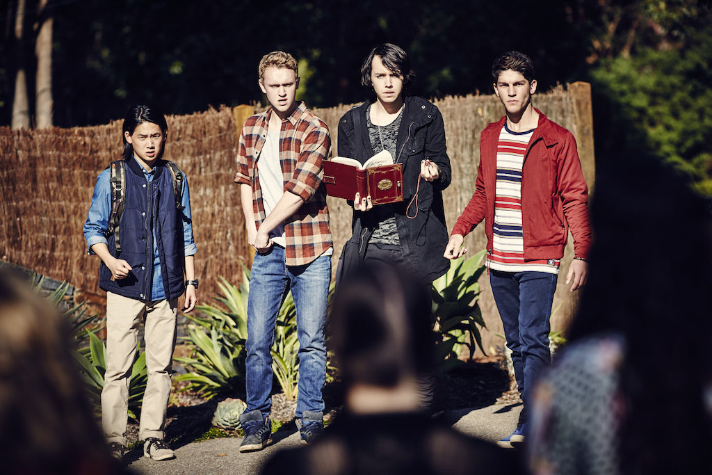 Nice Images Collection: Nowhere Boys: The Book Of Shadows Desktop Wallpapers