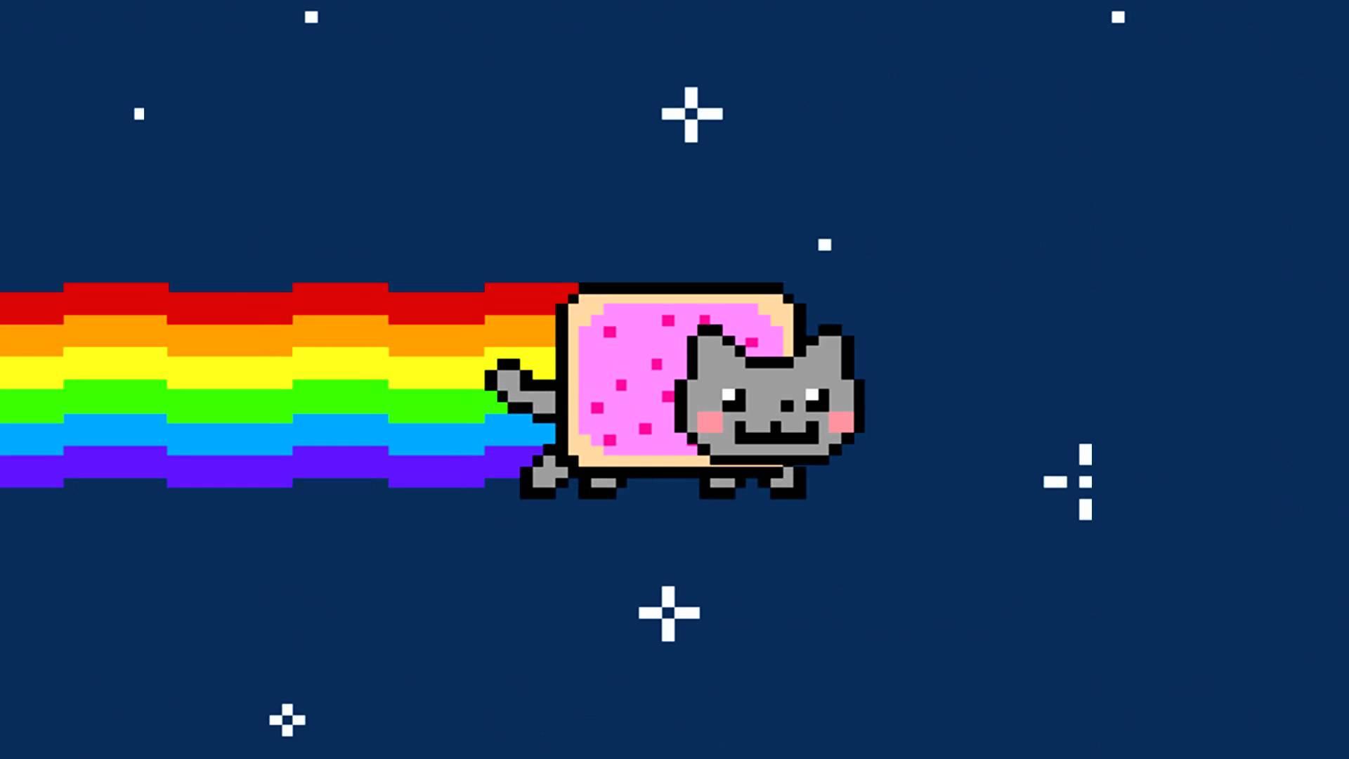 High Resolution Wallpaper | Nyan Cat 1920x1080 px