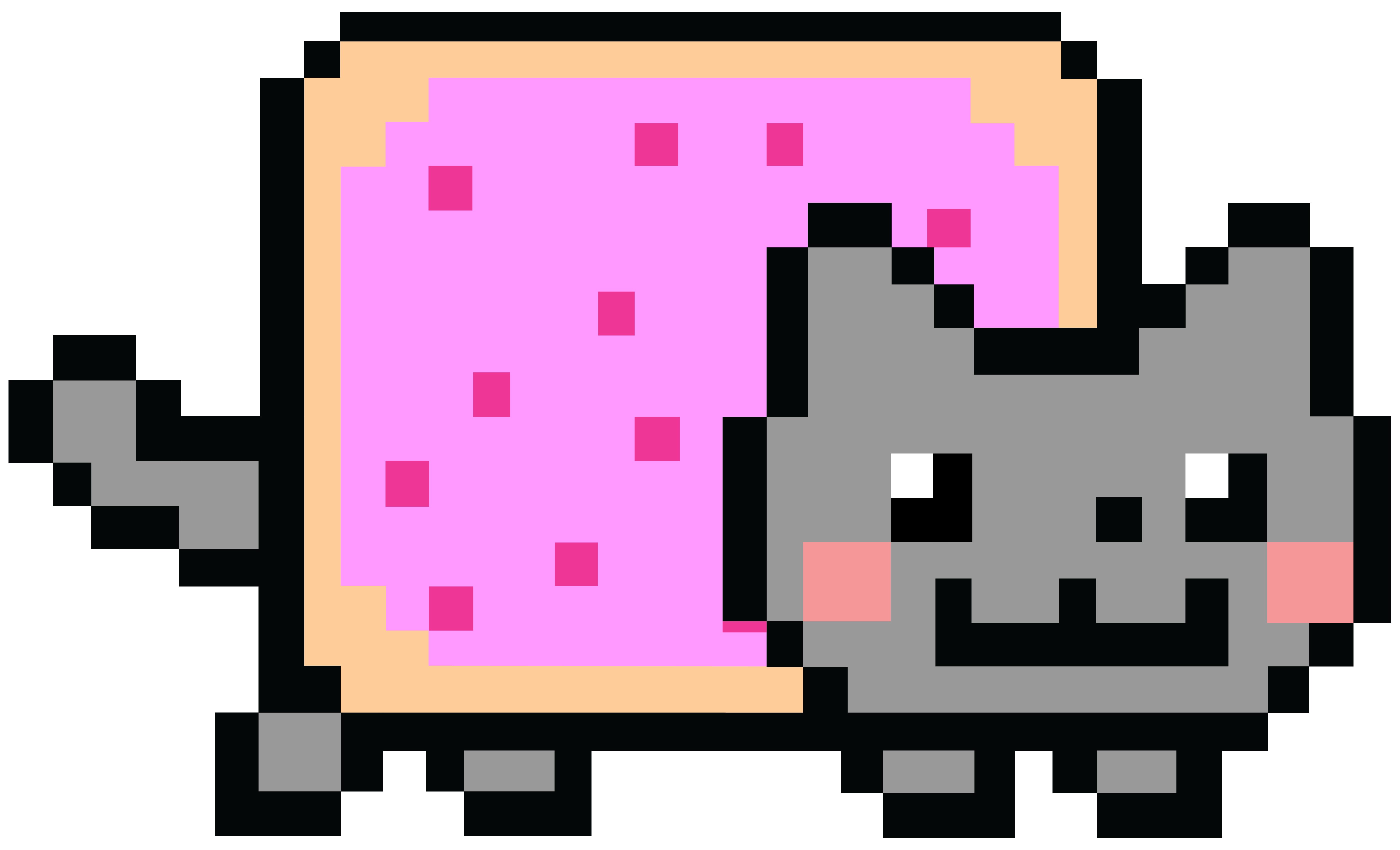 High Resolution Wallpaper | Nyan Cat 5600x3400 px