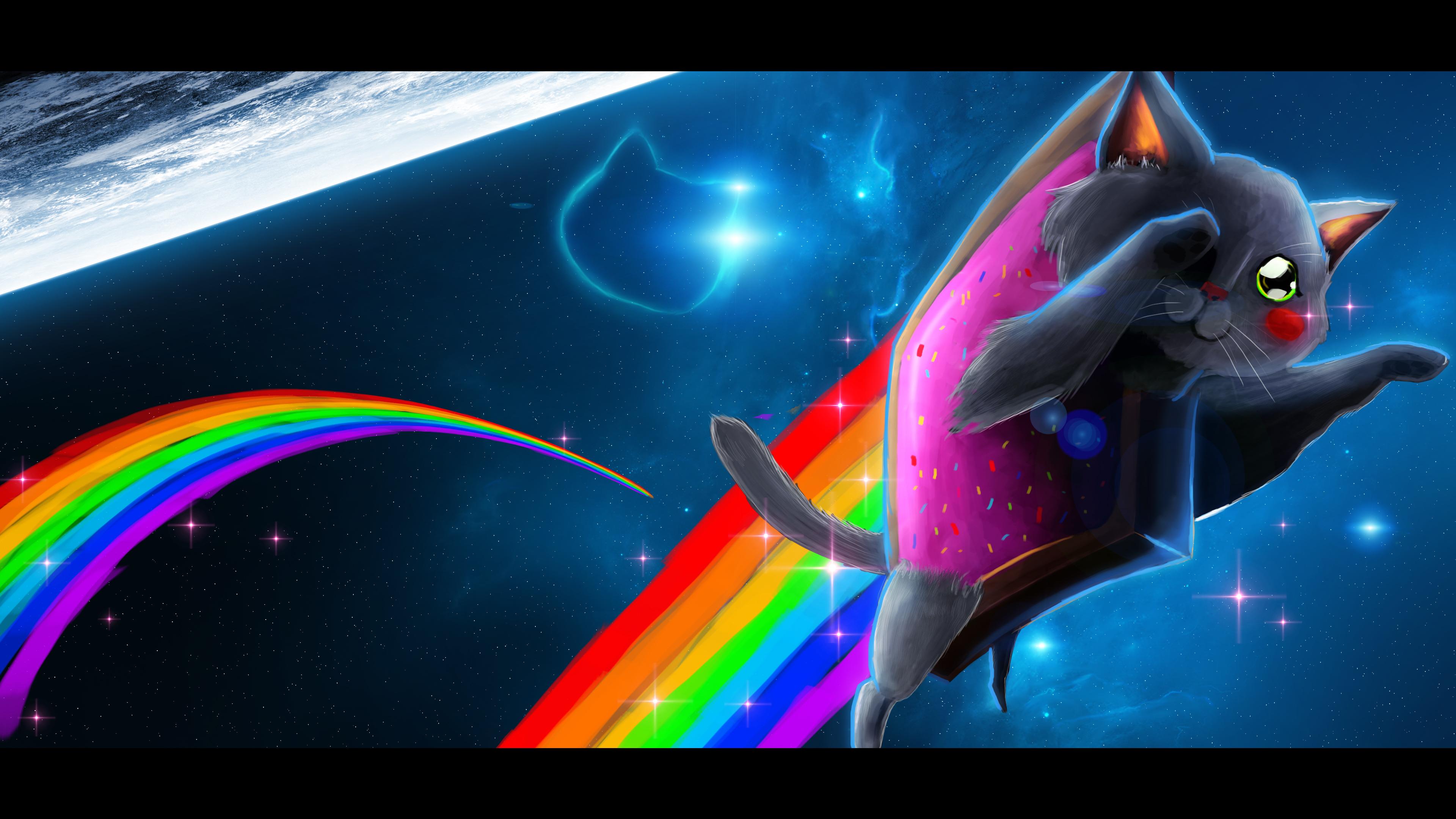 Nice Images Collection: Nyan Cat Desktop Wallpapers