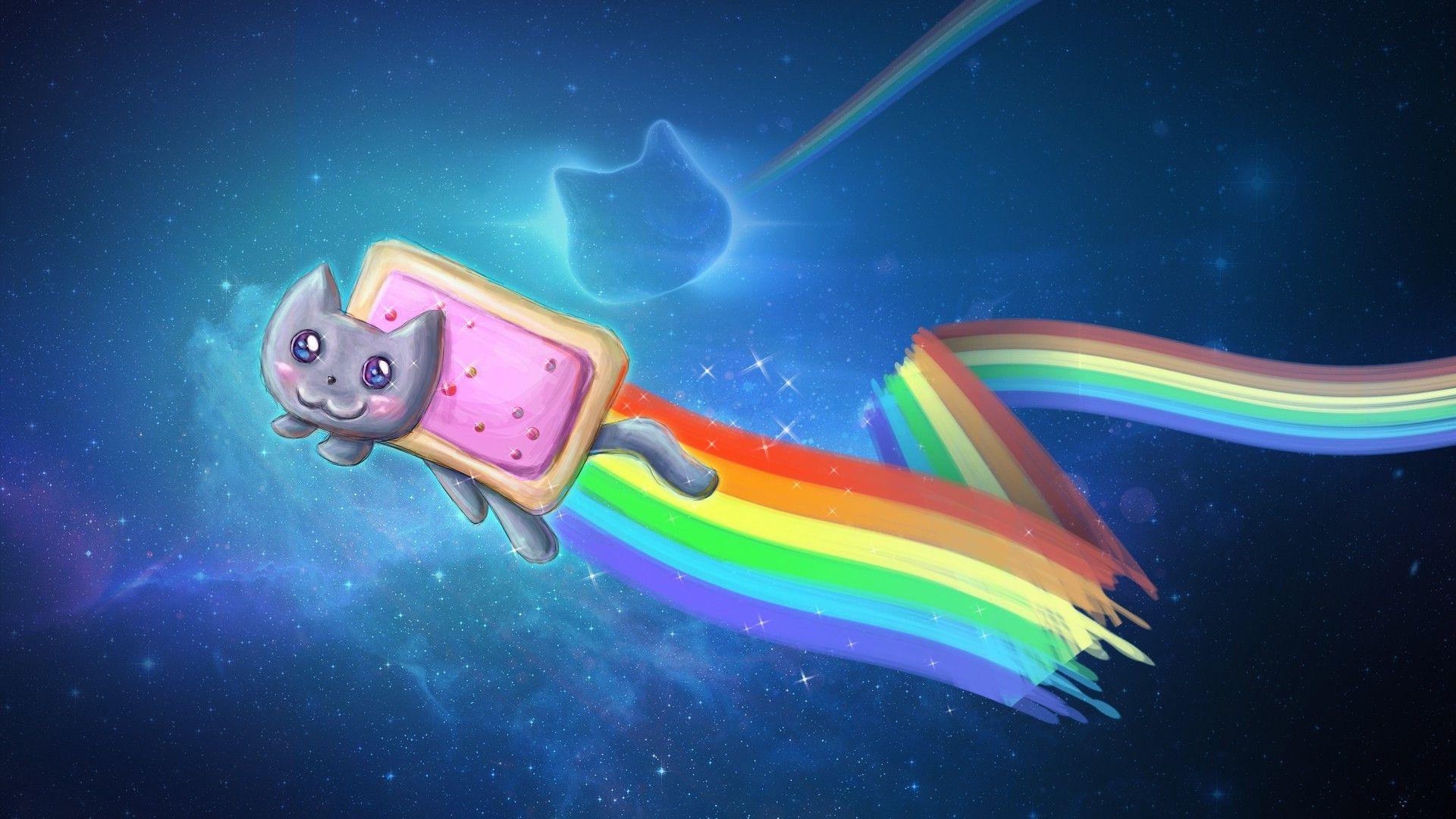 Nyan Cat HD wallpapers, Desktop wallpaper - most viewed