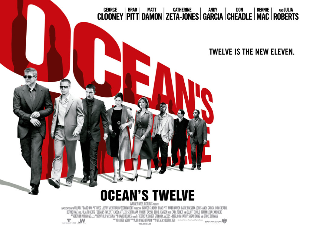 Ocean's Twelve wallpapers, Movie, HQ Ocean's Twelve pictures | 4K ...