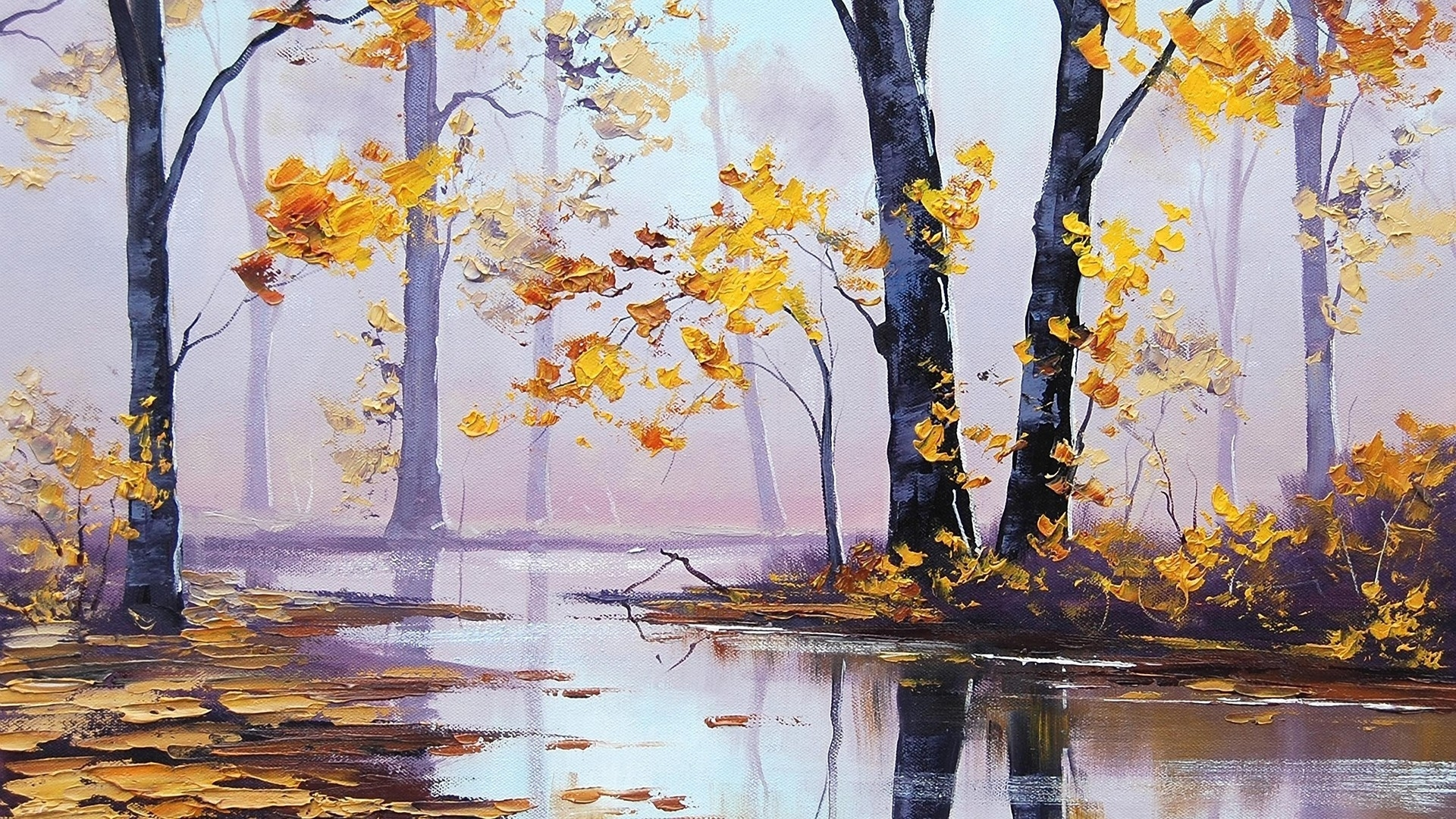 Oil Painting Backgrounds on Wallpapers Vista