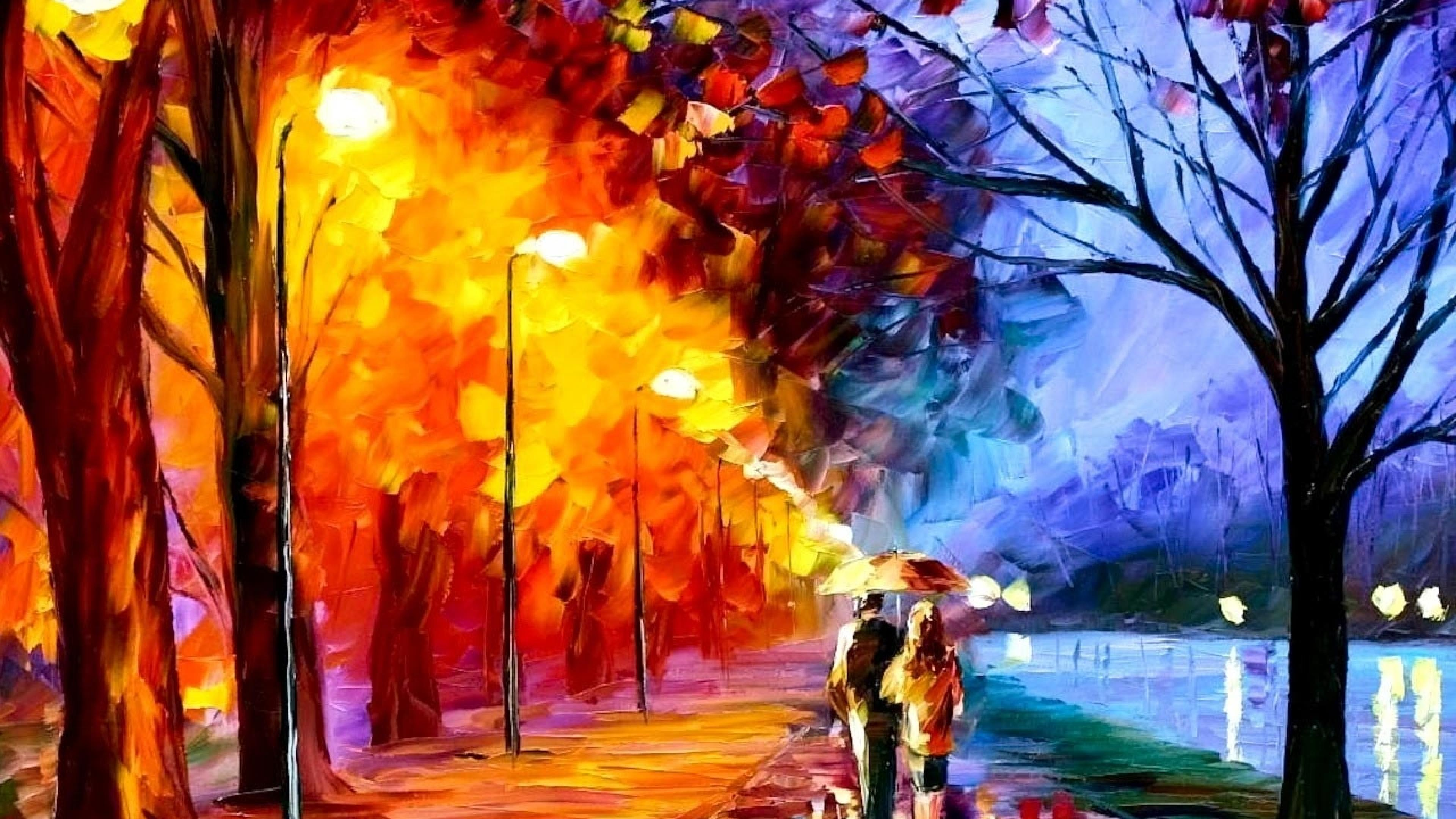 Nice Images Collection: Oil Painting Desktop Wallpapers