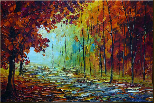 High Resolution Wallpaper | Oil Painting 600x400 px