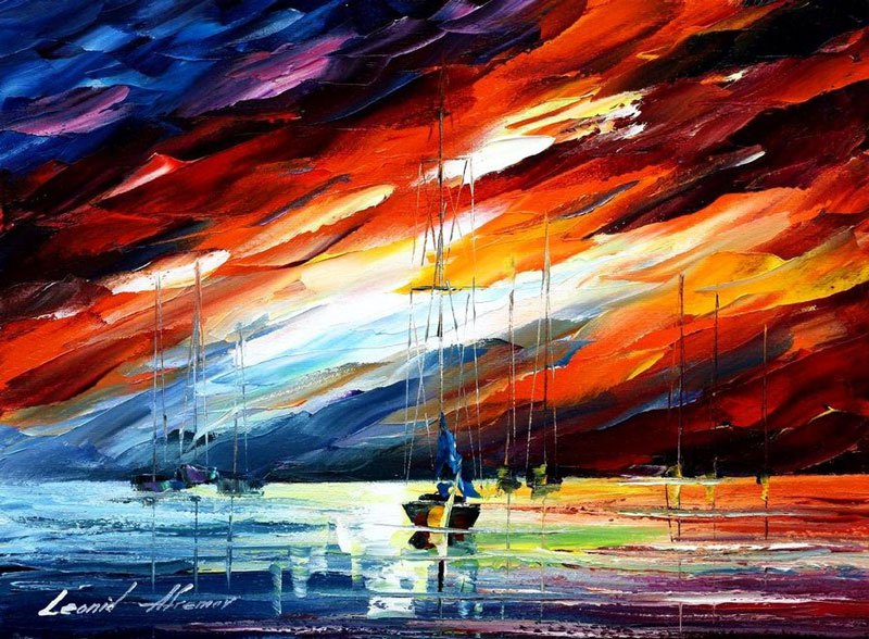 HQ Oil Painting Wallpapers | File 140.74Kb