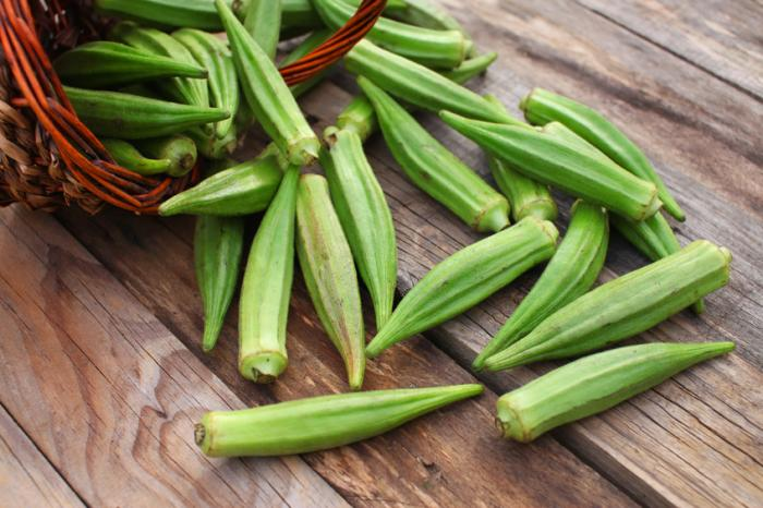 HD Quality Wallpaper | Collection: Food, 700x466 Okra
