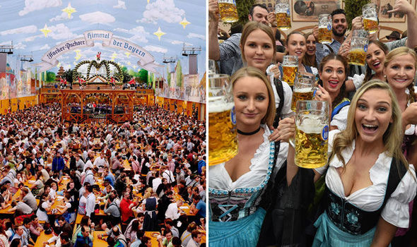 Nice Images Collection: Oktoberfest Desktop Wallpapers