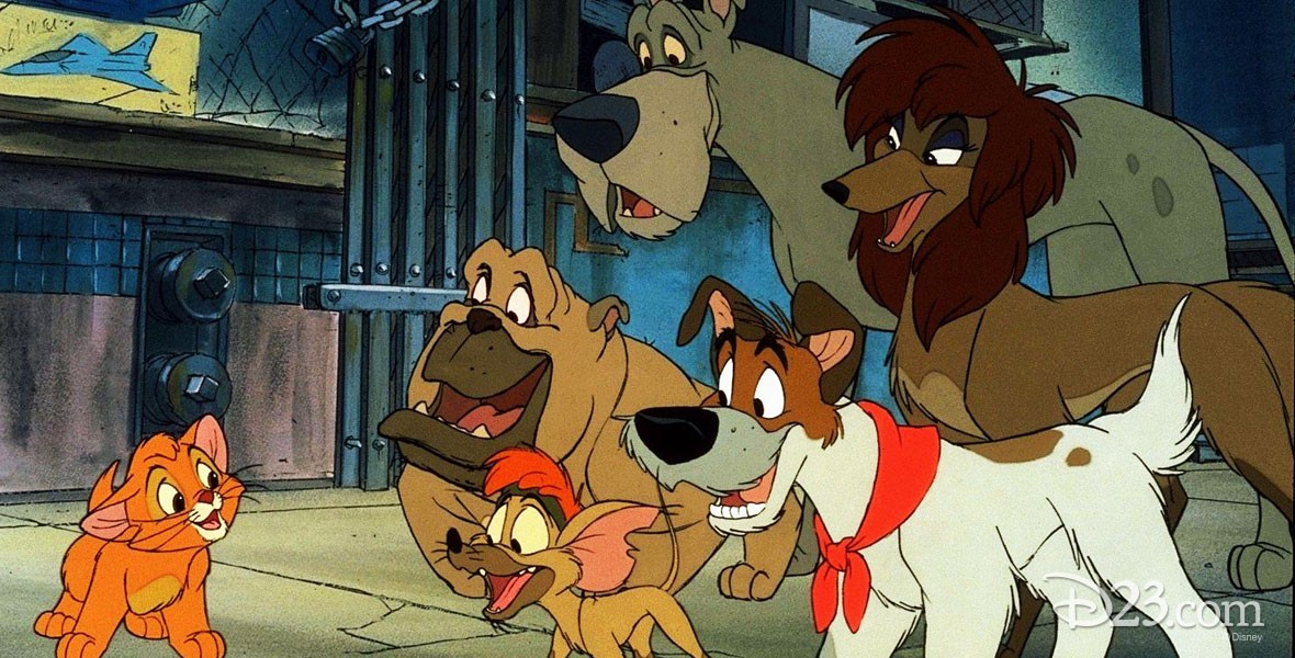 Oliver & Company Backgrounds, Compatible - PC, Mobile, Gadgets| 1180x600 px