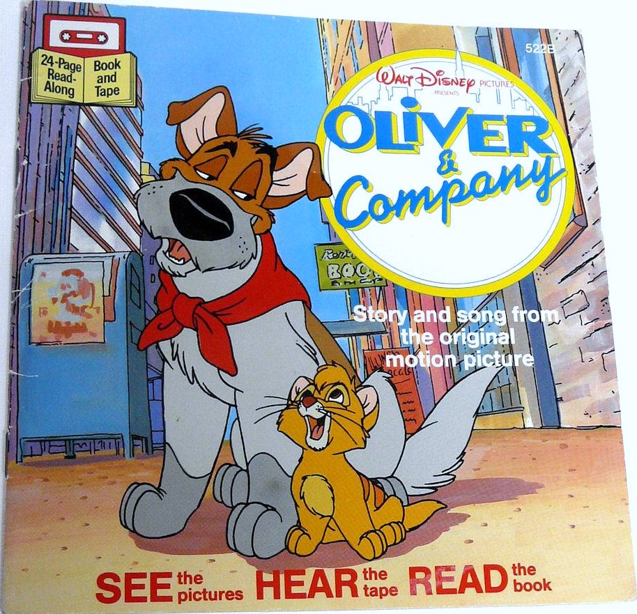 Nice Images Collection: Oliver & Company Desktop Wallpapers