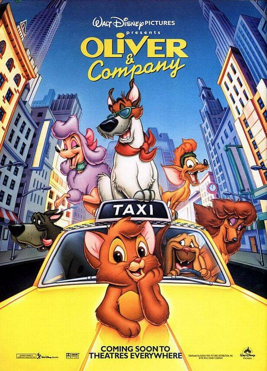 Oliver & Company Backgrounds on Wallpapers Vista