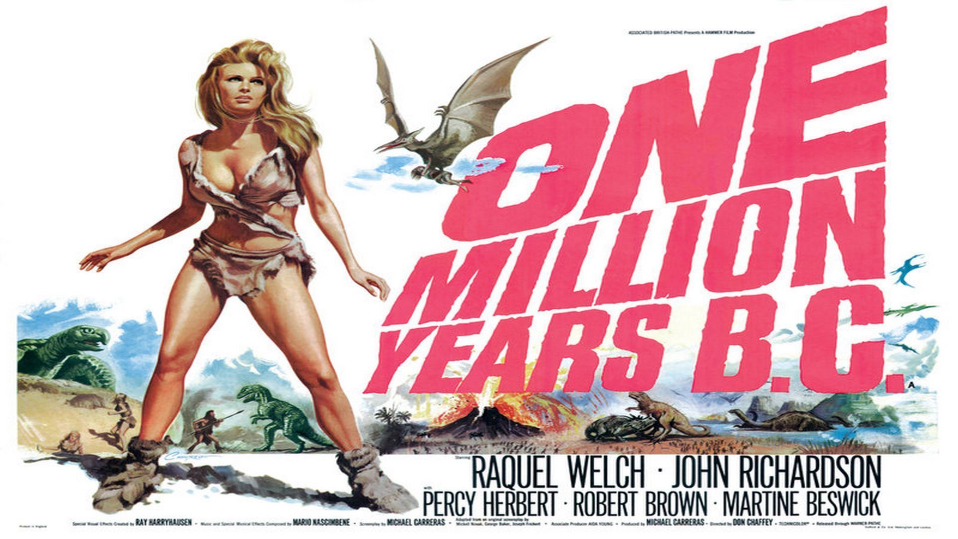 HQ One Million Years B.C. Wallpapers | File 240.67Kb