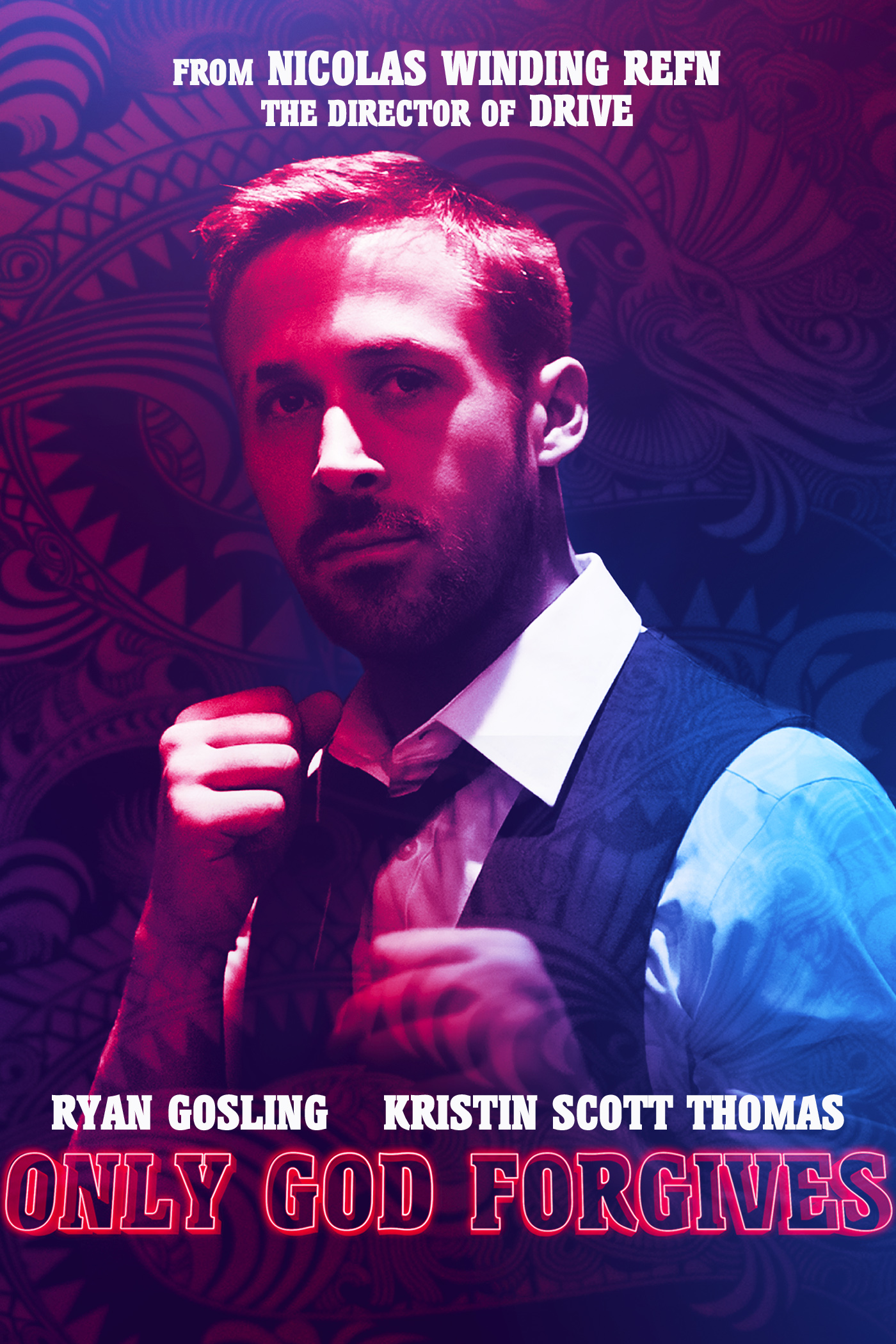 HD Quality Wallpaper | Collection: Movie, 1400x2100 Only God Forgives