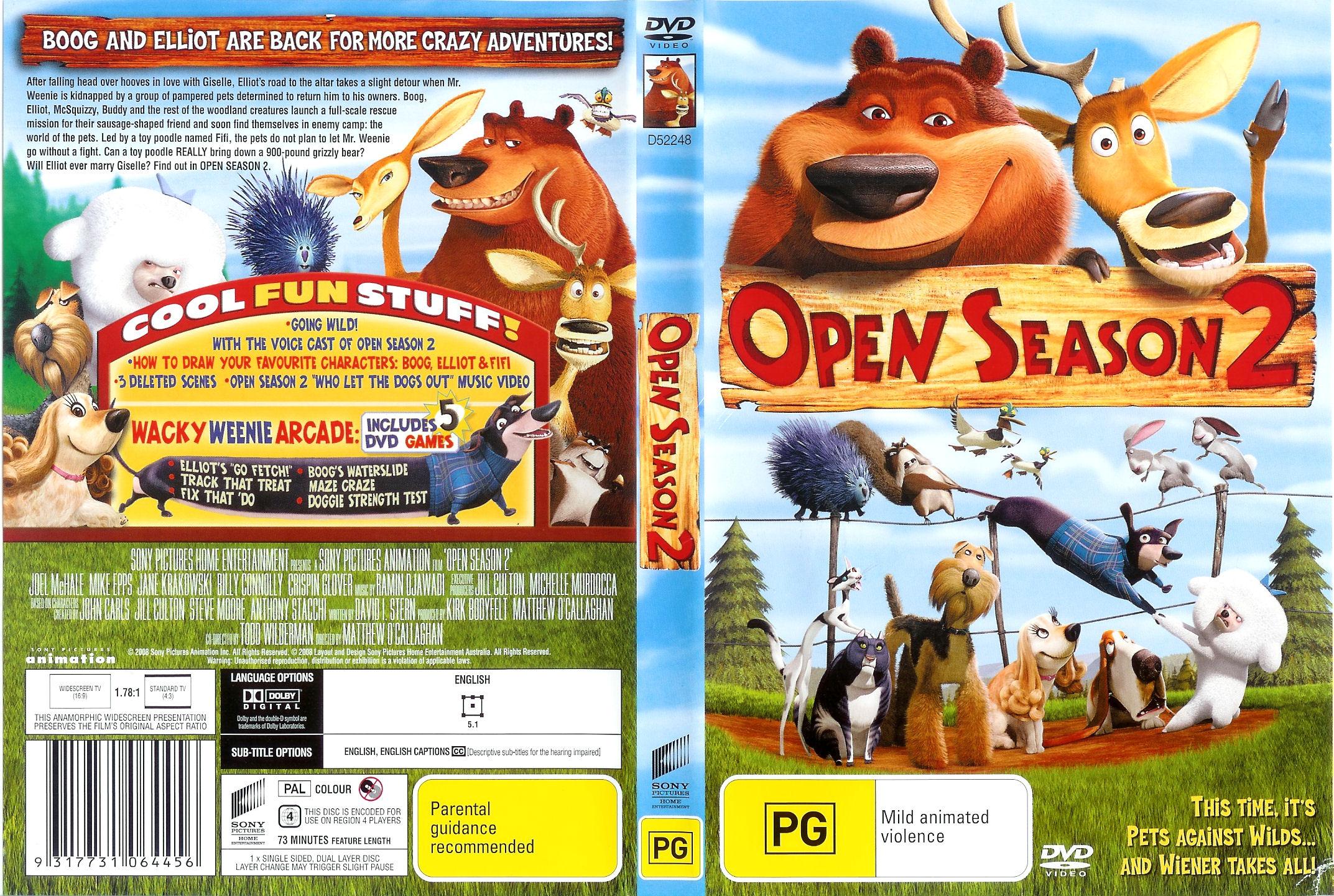 Open Season 2 Pics, Movie Collection