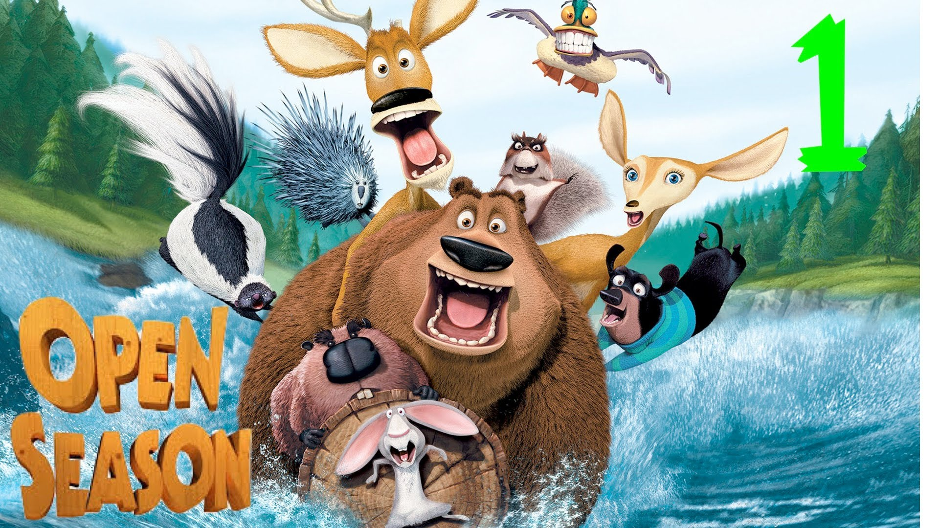 HD Quality Wallpaper | Collection: Movie, 1920x1080 Open Season