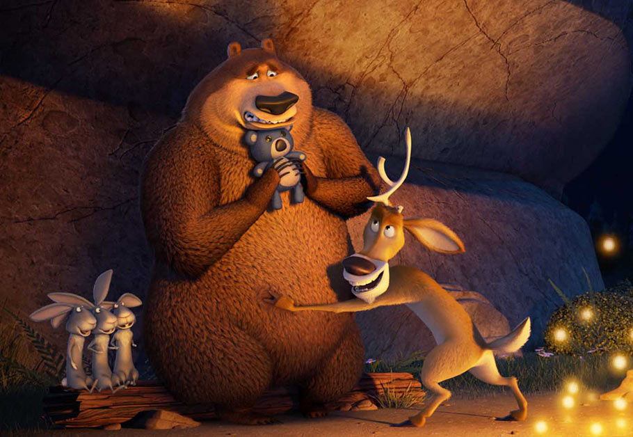Open Season: Scared Silly Backgrounds, Compatible - PC, Mobile, Gadgets  910x628 px