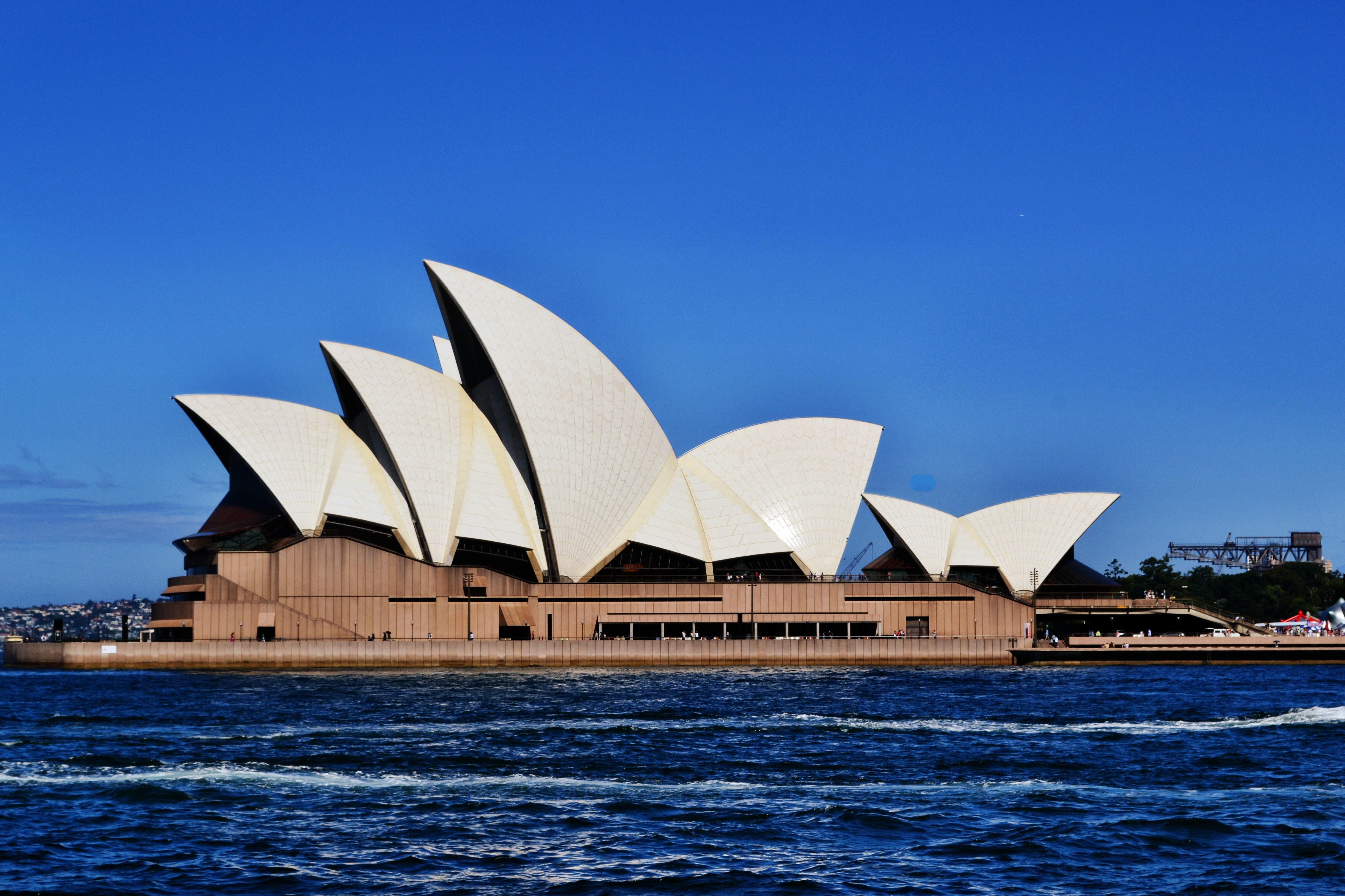 High Resolution Wallpaper | Sydney Opera House 4608x3072 px