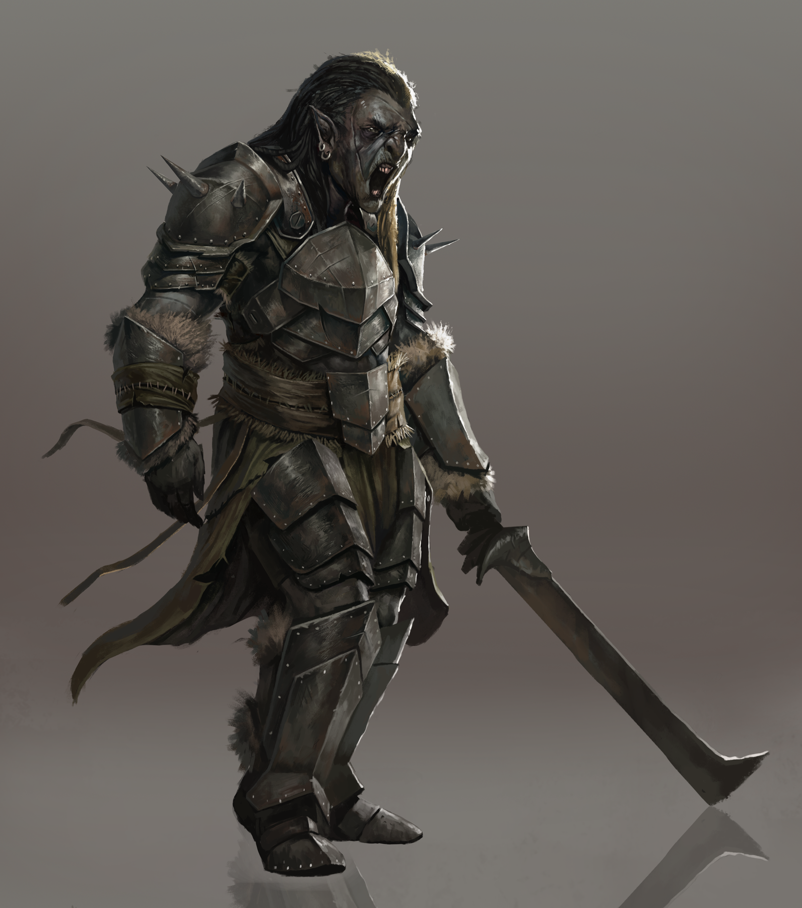 Nice Images Collection: Orc Desktop Wallpapers