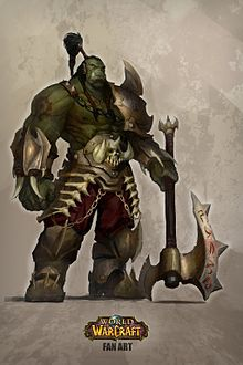 Orc Backgrounds on Wallpapers Vista