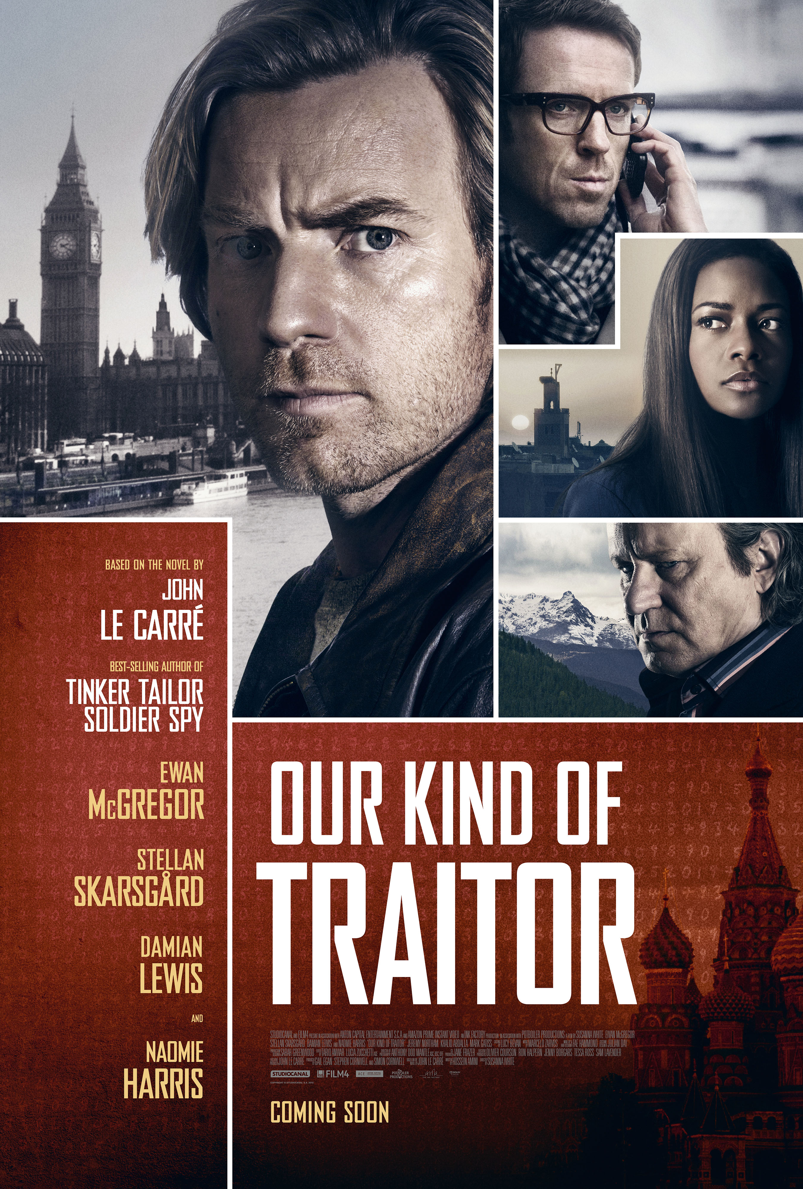 2701x4000 > Our Kind Of Traitor Wallpapers