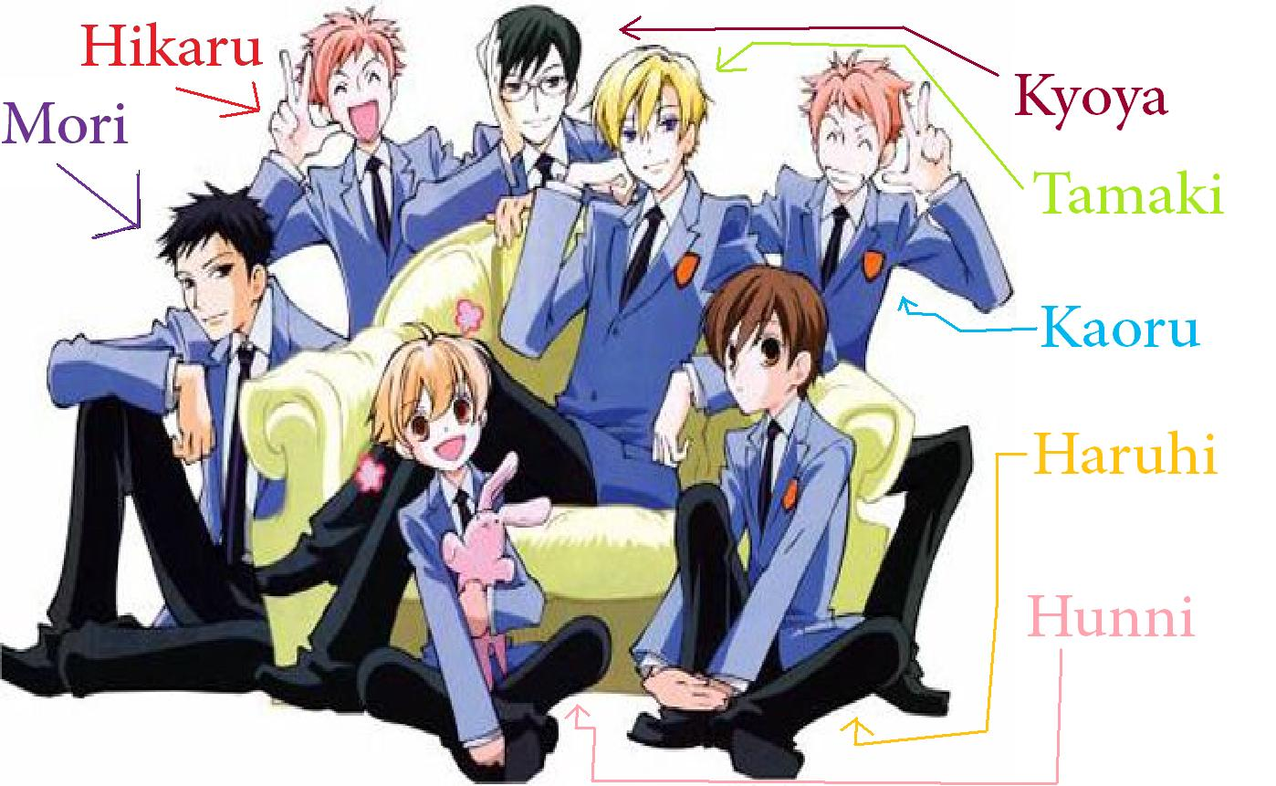 Most Viewed Ouran High School Host Club Wallpapers 4k Wallpapers